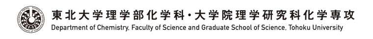 Department of Chemistry, Faculty of Science and Graduate School of Science, Tohoku University